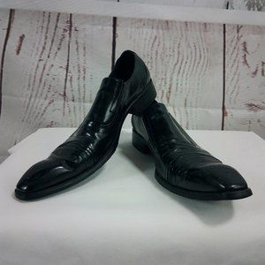 Banana Blues Rare Western Black Slip On Shoes
